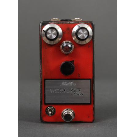 DanDrive Working Man Fuzz Owen Barry Signature