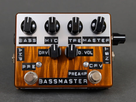 Shin*s Music Bass Master Preamp Copper Flame