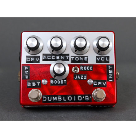 Shin*s Music Dumbloid Boost Special Red Scratch Finish