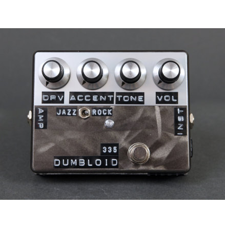 Shin*s Music Dumbloid Special 335 Black Scratch Finish