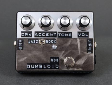 Shin*s Music Dumbloid Special 335 Black Scratch Finish