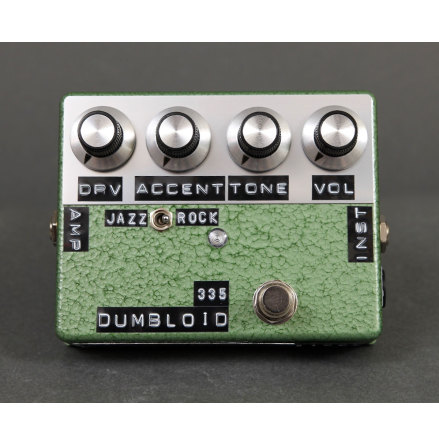 Shin*s Music Dumbloid Special 335 Green Hammer Finish.