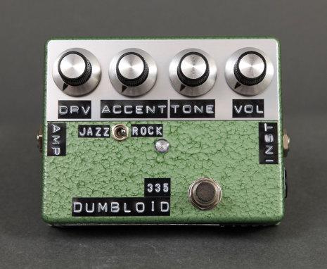 Shin*s Music Dumbloid Special 335 Green Hammer Finish.