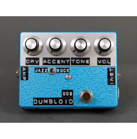 Shin*s Music Dumbloid Special OD Blue Hammer Finish