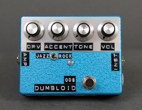 Shin*s Music Dumbloid Special OD Blue Hammer Finish