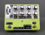 Shin*s Music Dumbloid Twin Overdrive Light Green Suede