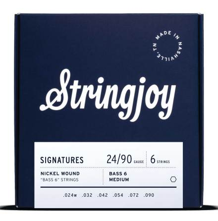 Stringjoy Signatures Bass VI Balanced Gauge(24-90)