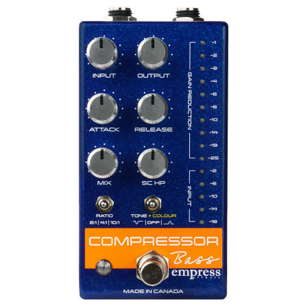 Empress Compressor Bass Blue