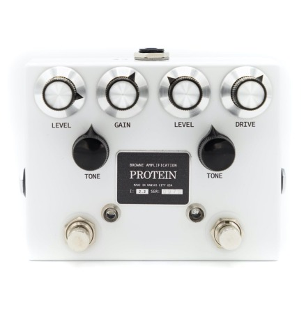 Browne Amplification The Protein Dual OD in white