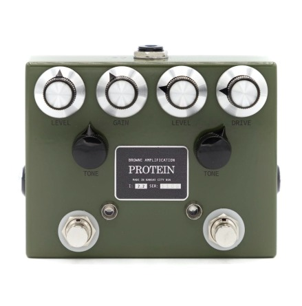 Browne Amplification The Protein Dual OD in green