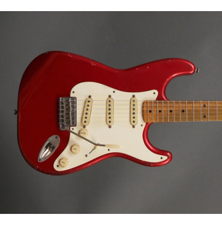 Danocaster Double Cut Candy Apple Red