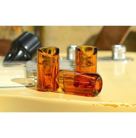 The Rock Slide Moulded Glass Slide - Medium - Amber Edition