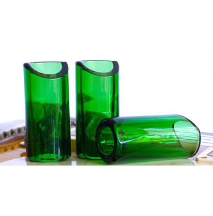 The Rock Slide Moulded Glass Slide - Medium - Green Edition