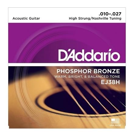 DADDARIO Nashville tuning EJ38H Phosphor Bronze 010-027