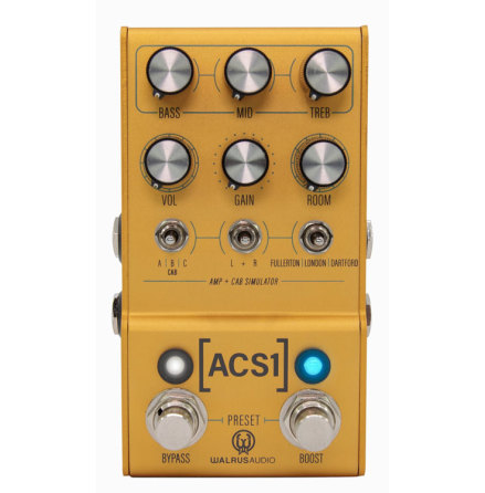 Walrus Audio Mako Series ACS1 Amp and Cab Simulator
