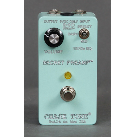 Chase Tone Secret Preamp Surf Green