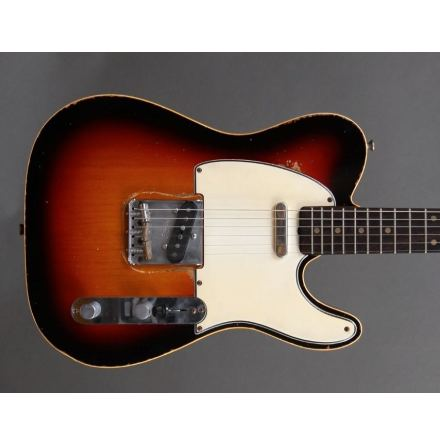 M.B. Guitars 59-T Sunburst Double Bound
