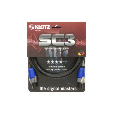 Klotz SC-3 Black 2m SpeakON Cable