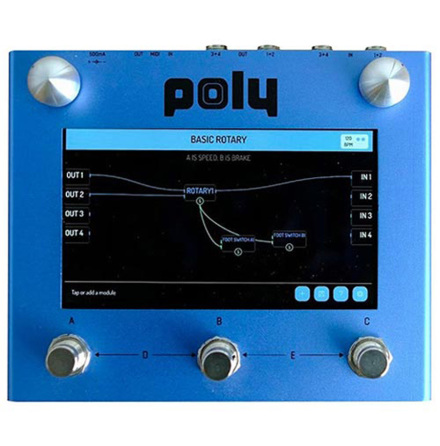 Poly Effects Beebo Multi Modulation Blue