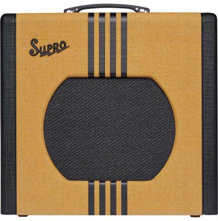 Supro Delta King 12 - 15W Tweed & Black
