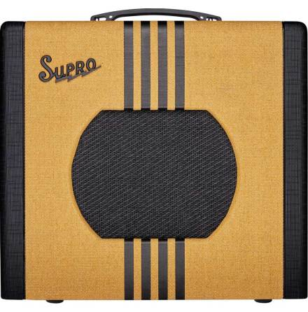 Supro Delta King 10 - 5W Tweed & Black