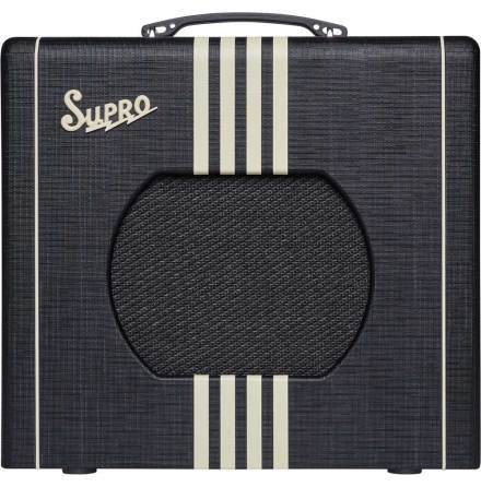 Supro Delta King 10 - 5W Black & Cream