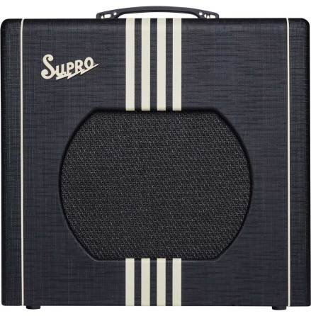 Supro Delta King 12 - 15W Black & Cream