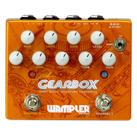 Wampler Gearbox Andy Wood Signature Pedal
