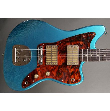 Waterslide Guitars Offset Ocean Turquoise