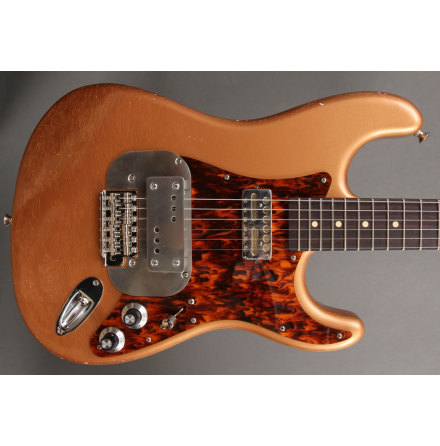 Waterslide Coodercaster S-style Copper Metallic