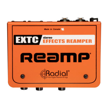 Radial Engineering EXTC Stereo Guitar Interface and Reamper
