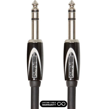 Roland Black Series RCC-10-TRTR 1/4´ TRS-1/4´ TRS Balanced 3m