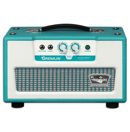 Tone King Gremlin 5 watt Tube Head Turquoise