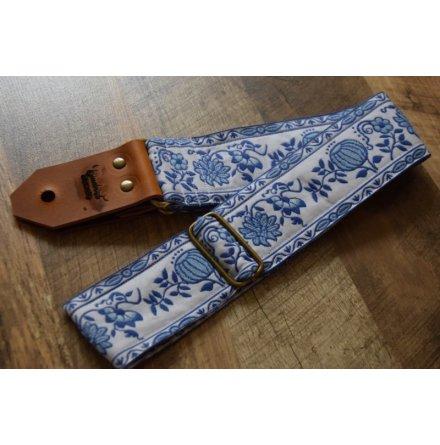 Bluebird Modern Series Blue & White Delft Pumpkin Strap