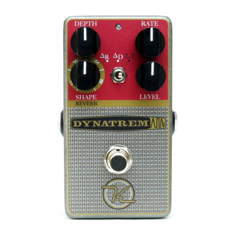 Keeley DynaTrem Dynamic Tremolo and Reverb