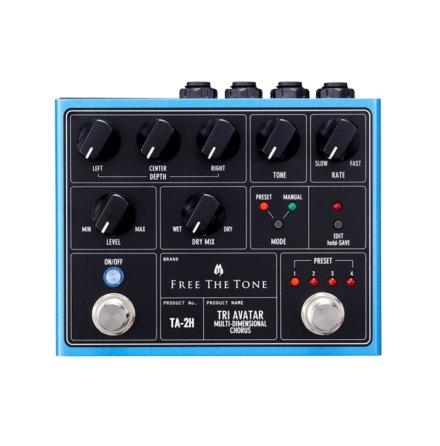 Free The Tone Tri Avatar TA-2H Multi-Dimensional Chorus