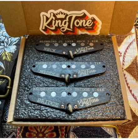 King Tone BLUEBIRD J1 strat set