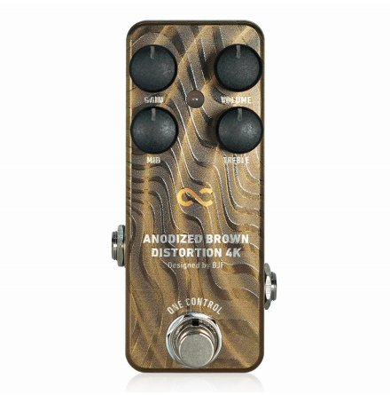 One Control Anodized Brown Distortion 4K