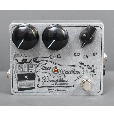 Quarantine Effects The Six Time Machine Preamplifier