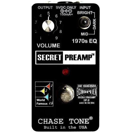 Chase Tone Secret Preamp - Custom Black