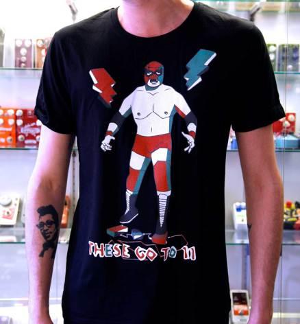 "TGT11 t-shirt ""wrestler"" black"