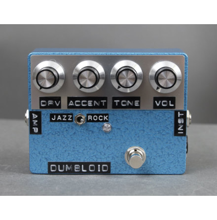 Shin*s Music Dumbloid Overdrive Special Blue Hammer Finish