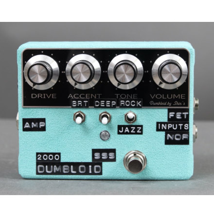 Shin*s Music Limited Edition Dumbloid 2000 SSS Emerald Suede