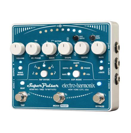 Electro Harmonix XO Super Pulsar Stereo Tap Tremolo