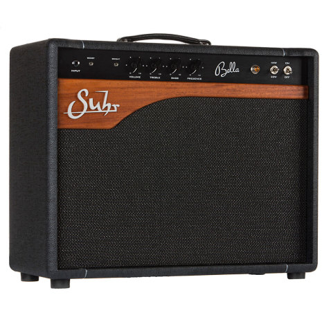 Suhr Bella Mahogny front 112 combo no reverb
