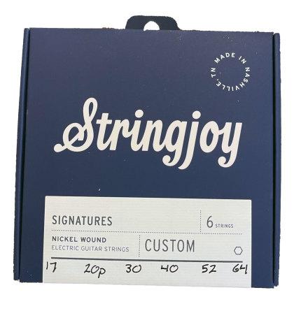 Stringjoy Balanced Ariel Posen (17-64) Nickel Wound Electric Guitar Strings