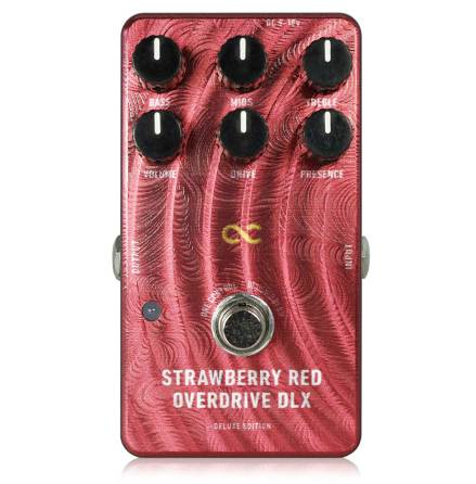 One Control Strawberry Red Overdrive DLX