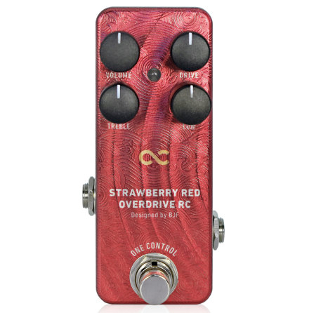 One Control Strawberry Red Overdrive RC