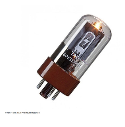 TAD 6V6GT-STR PREMIUM Matched Pair RT834