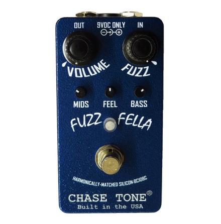 Chase Tone Fuzz Fella Blue BC108C NAVY BLUE LIM ED